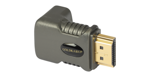 Goldkabel HDMI Winkeladapter 270 Grad