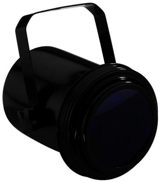 PAR-36/SW - Punktstrahler schwarz mit Montagebügel