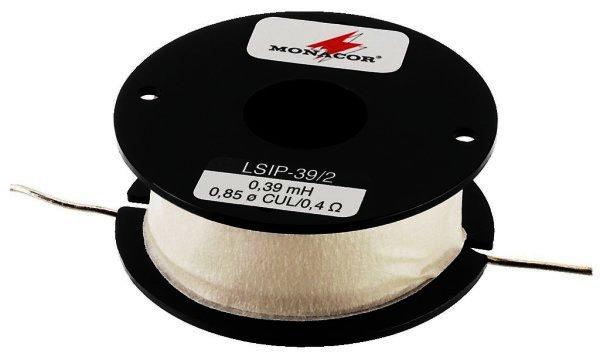 LSIP-39/2 Luftspule 0,39mH, Draht 0,85mm, 100 Watt