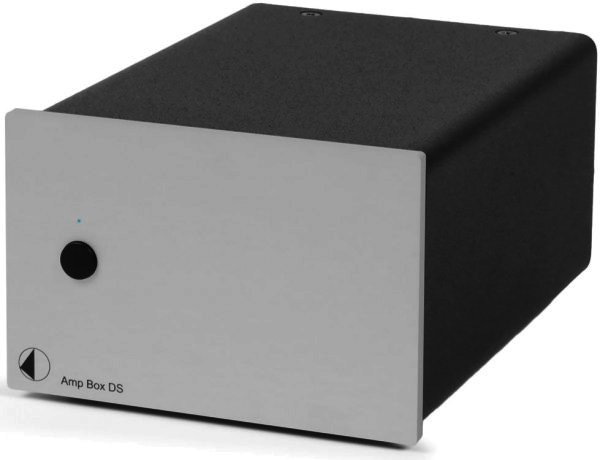 AUSSTELLER Pro-Ject Amp Box DS - Stereo Endverstärker Silber