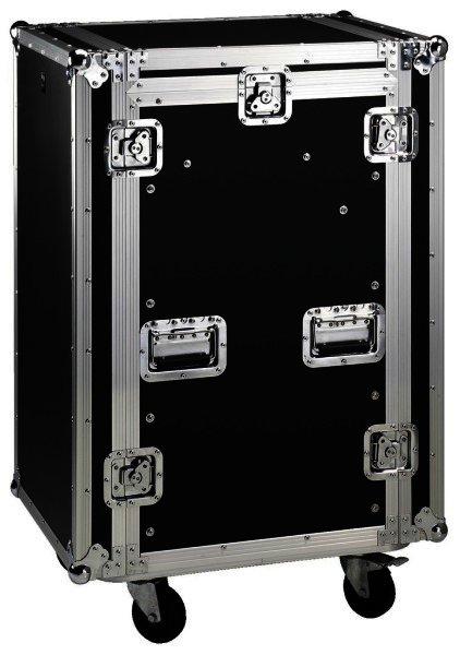 """MR-162 Rollbares Flightcases für 482mm Geräte 19"""", 16HE"""