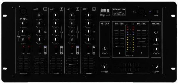MPX-205/SW - Stereo DJ-Mischpult mit Crossfader