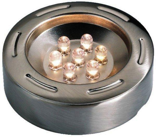 HLE-8CRM/WS - LED-Ein- und Aufbaubauleuchte weiße LED