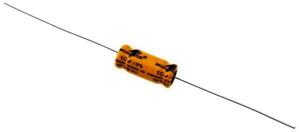 Bipolarer Elektrolytkondensator 10µF, RM 20mm, 4 Stück