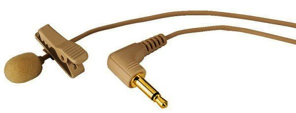 ECM-500L/SK - Elektret-Krawatten-Mikrofon hautfarben