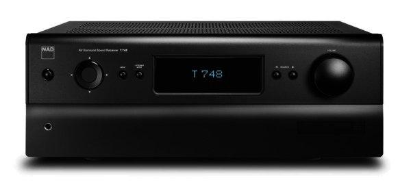 NAD T 748+ AV Receiver mit 7.1 und HDMI 1.4