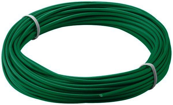 Kupferlitze isoliert, 10M, 1x0,14mm, grün